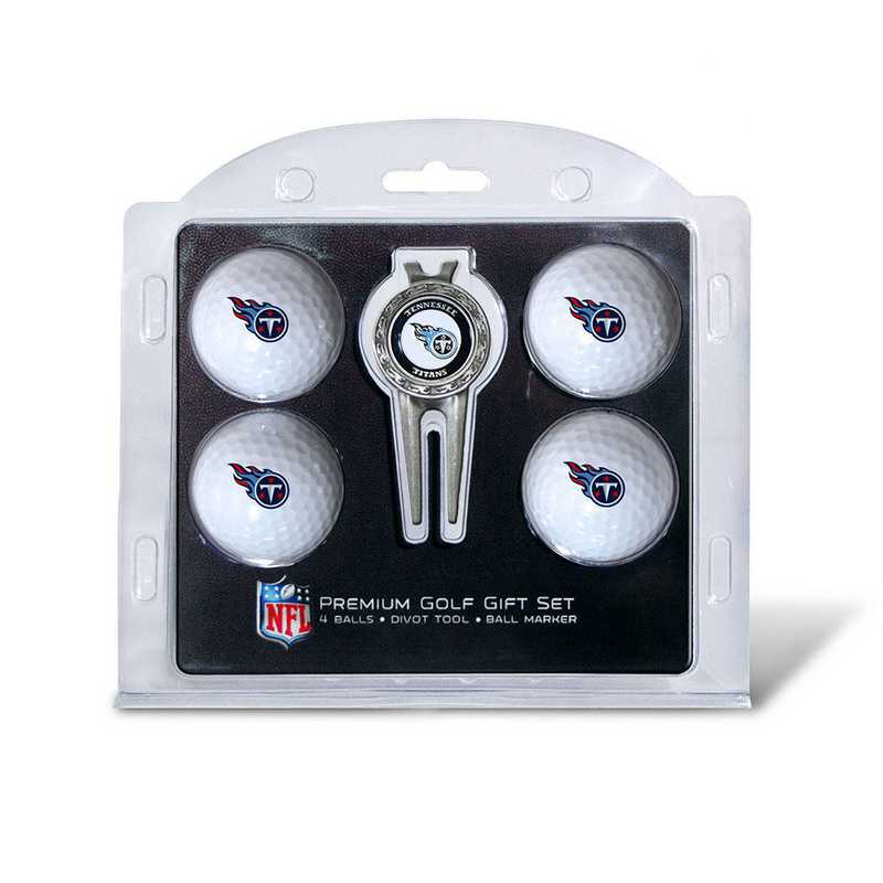 33006: 4 Golf Ball And Divot Tool Set Tennessee Titans